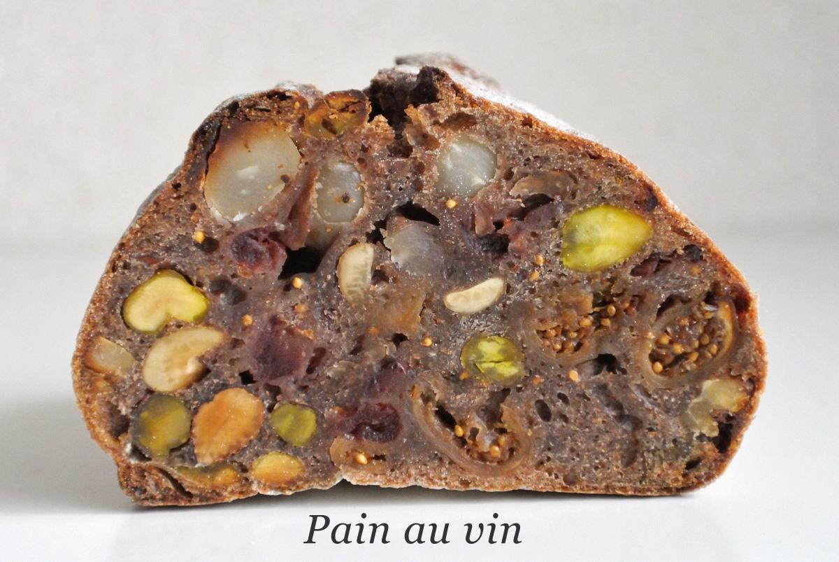 シニフィアン・シニフィエのパン・オ・ヴァン(Pain au vin)