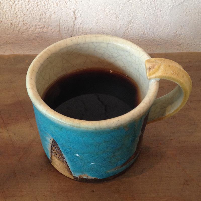 bin ジャムと珈琲、あるいはその他。のコーヒー「黒パン(カンパーニュ)」
