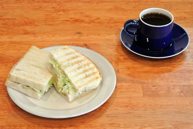 Bセット 今週のサンドイッチ+今週のコーヒー
