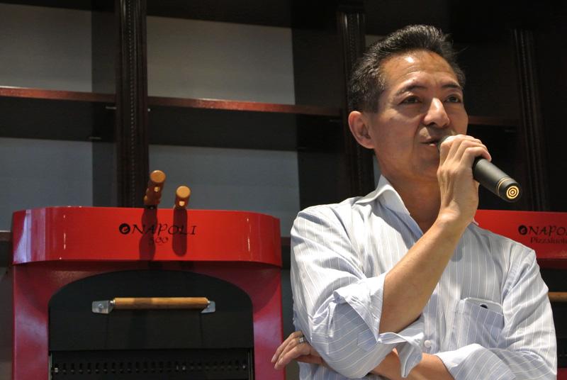 日本アンバサドール協会副会長の牛尾則明シェフ(VIRON)