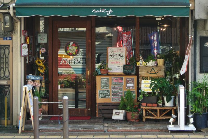 森小路と千林大宮から近いマチカフェ