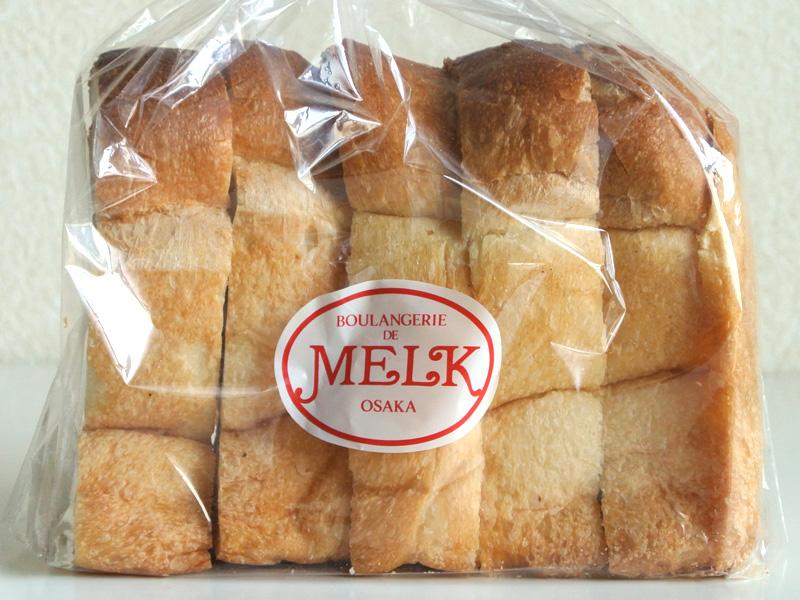 ブーランジュリー・メルク(大阪府豊中市)の山型食パン「メルクトースト」