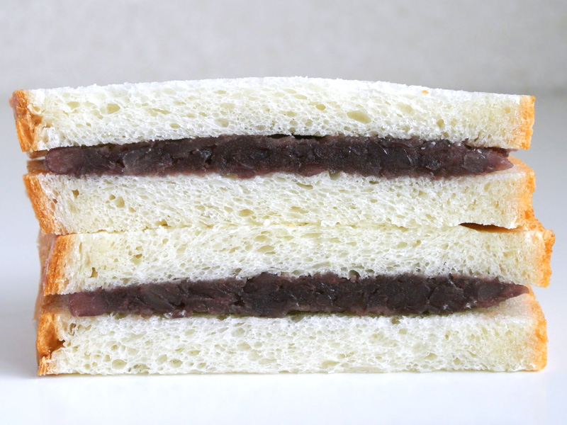 anneeのクリーム食パンと中村製餡所の粒あんでスペシャル餡サンドを作る
