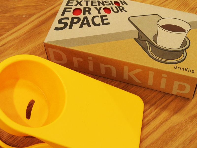 EXTENSION FOR YOUR SPACE DrinKlip