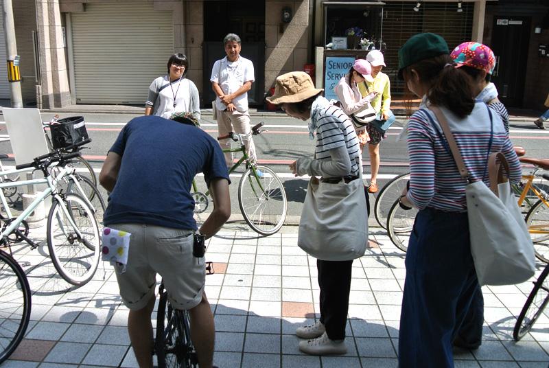 パンライドでは「TOKYOBIKE 26」「TOKYOBIKE SPORT9s」などの貸出が行われた