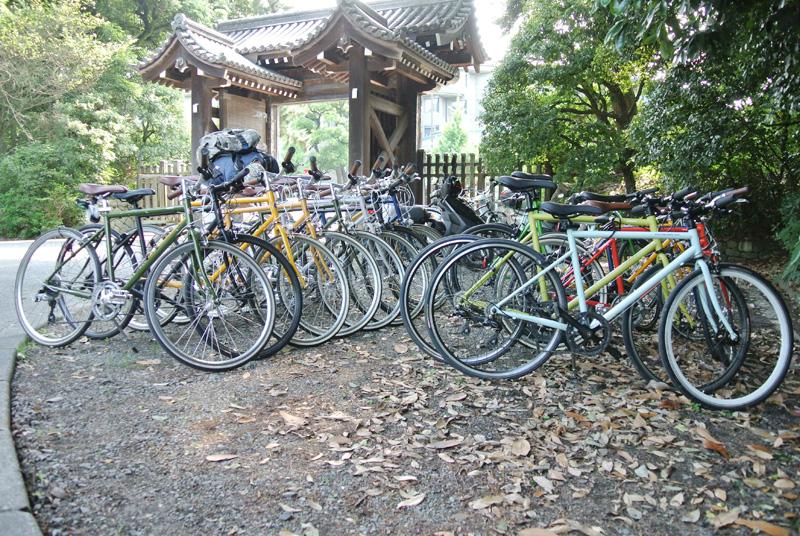 トーキョーバイクと京都御所