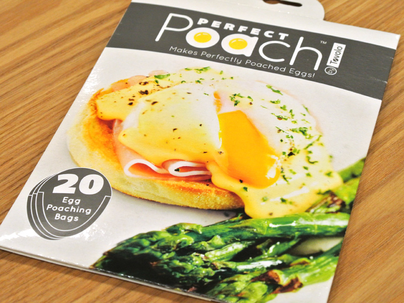 トボロ(Tovolo)「パーフェクトポーチ(20 Egg Poaching Bags)」