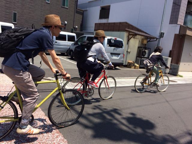 トーキョーバイクで京都のパン屋さんへ!