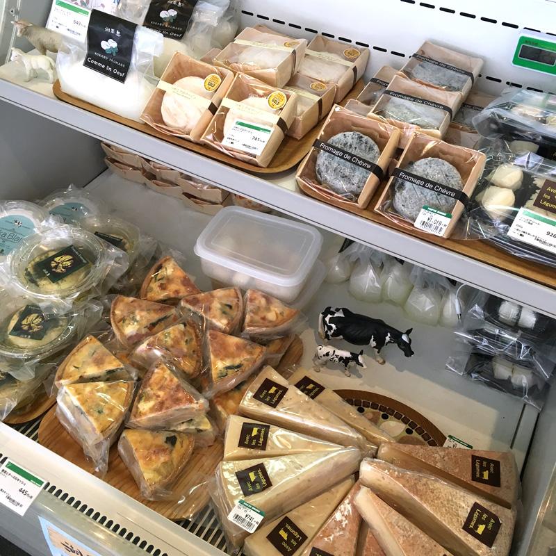 滋賀県古株牧場のチーズ