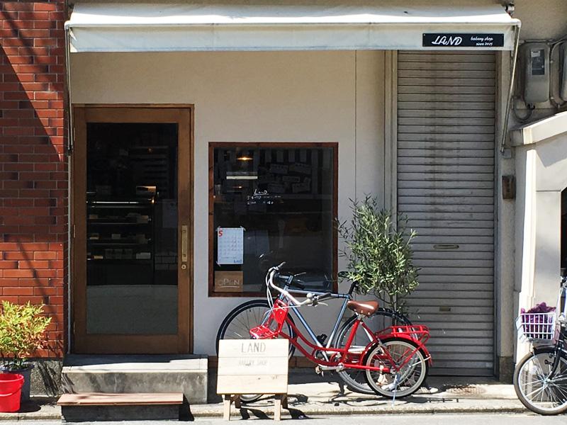京都荒神口のベーカリーLAND