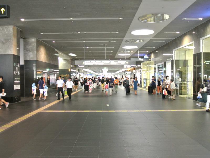 京都駅直結のジェイアール京都伊勢丹