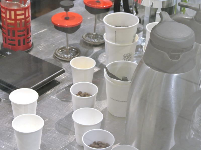 丸山珈琲は自家焙煎豆を豊富に販売