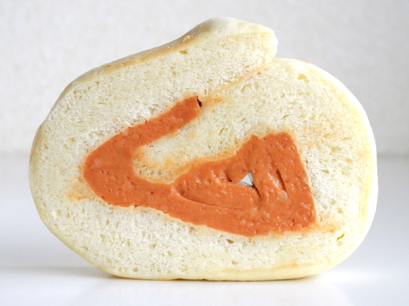 ココ・キラリ内田雅彦シェフ×コネルヤ内山健二シェフ「ロールケーキみたいなパン」