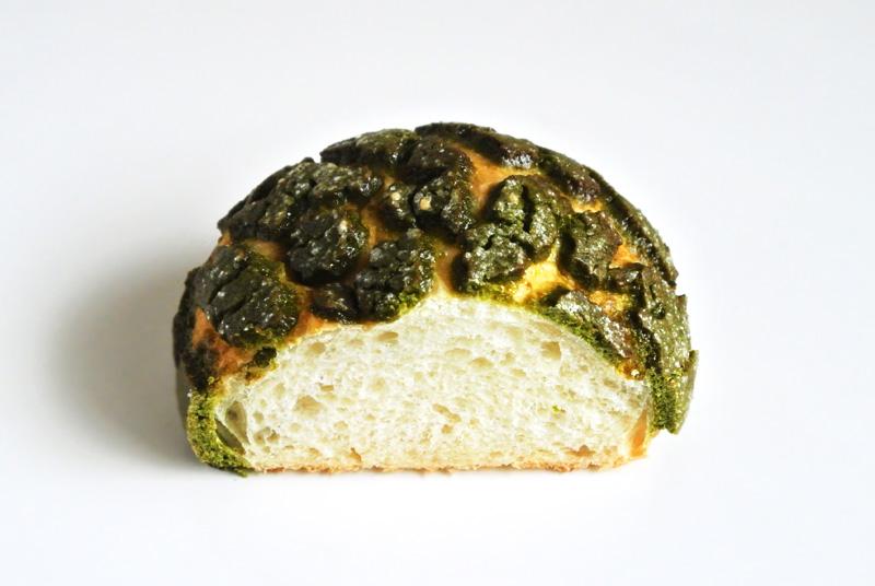 ファイブランの「京抹茶メロンパン」