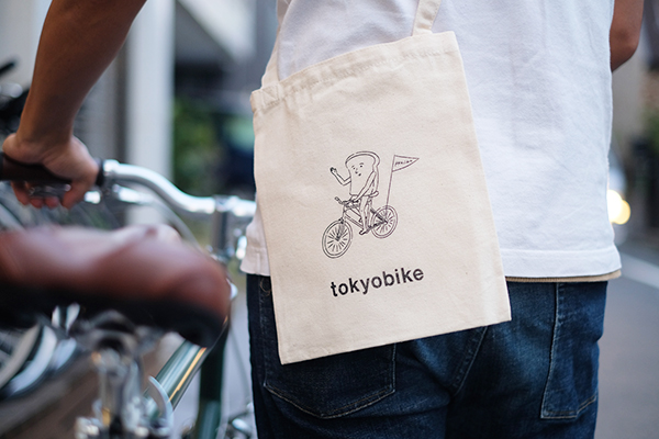 tokyobike shop 高円寺「秋のパンラリー」パン人とのコラボサコッシュ